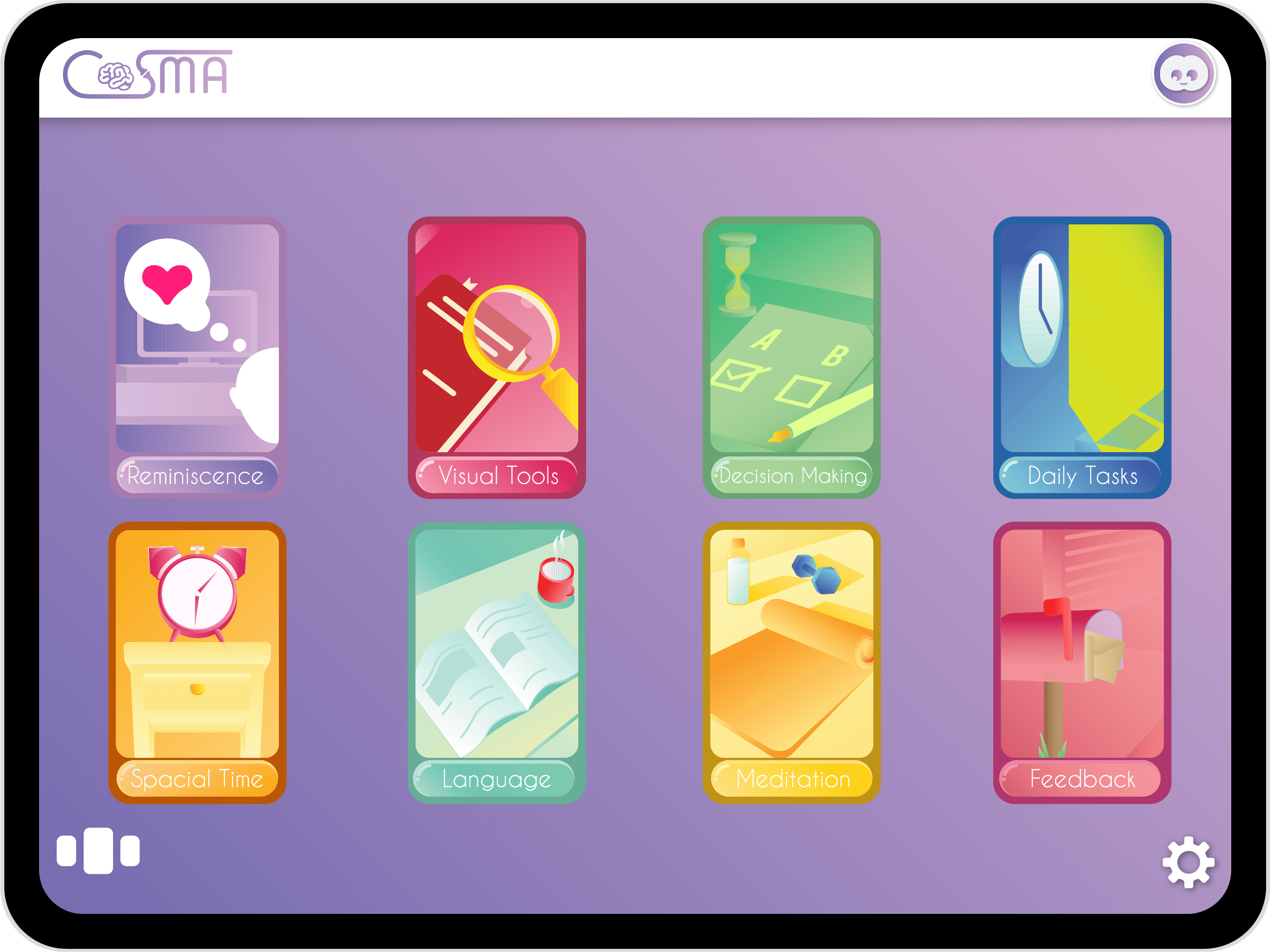 COSMA Dementia product modules